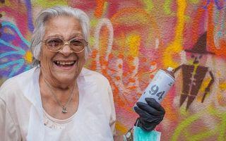 """看看里斯本的""""涂鸦奶奶"""" 一切都不算太晚"""