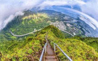 世界上最美丽的天国阶梯 你敢登吗