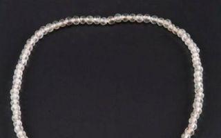 西安一唐墓出土文物珍品 水晶项链惊艳穿越时空