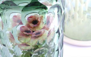 手工玻璃花罩  散发朦胧文艺美感