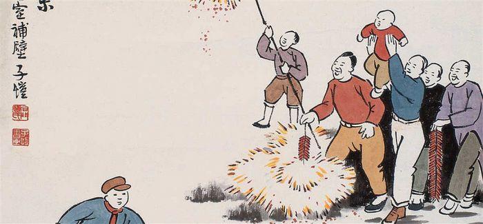 丰子恺:他的画总能让我们傻乐起来
