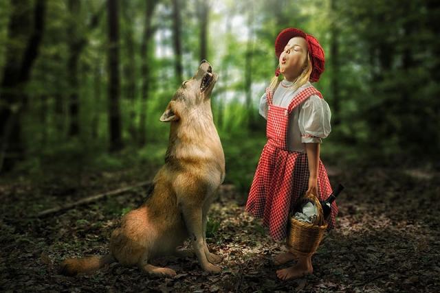 摄影师John Wilhelm 极富想象的创意儿童摄影