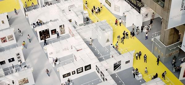 2015 台北国际艺术博览会10月30日开幕  邱志杰作品参展