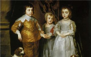 首席宫廷画家范戴克 他影响英国肖像200年