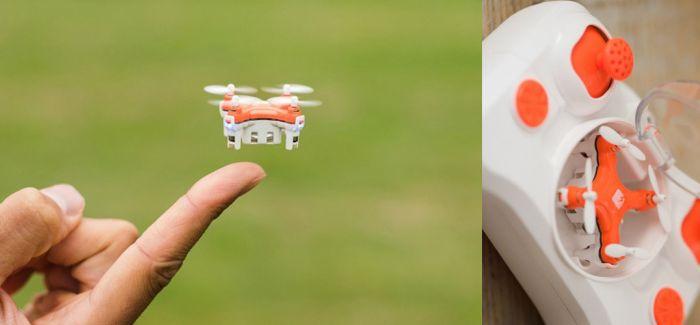 世界上最小的无人机玩具