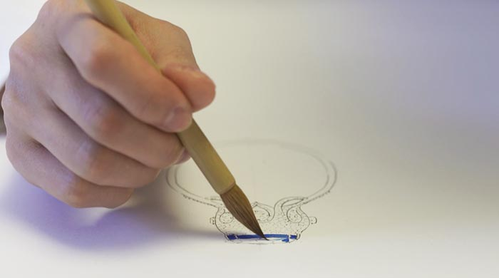 珠宝设计的过程就是艺术创作的过程