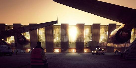 北京大兴机场出新方案 盘点最近新机场设计作品