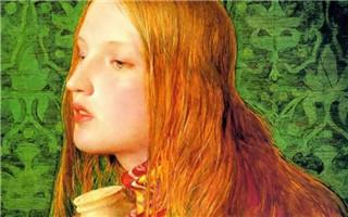 看艺术名画中都有哪些最美红发