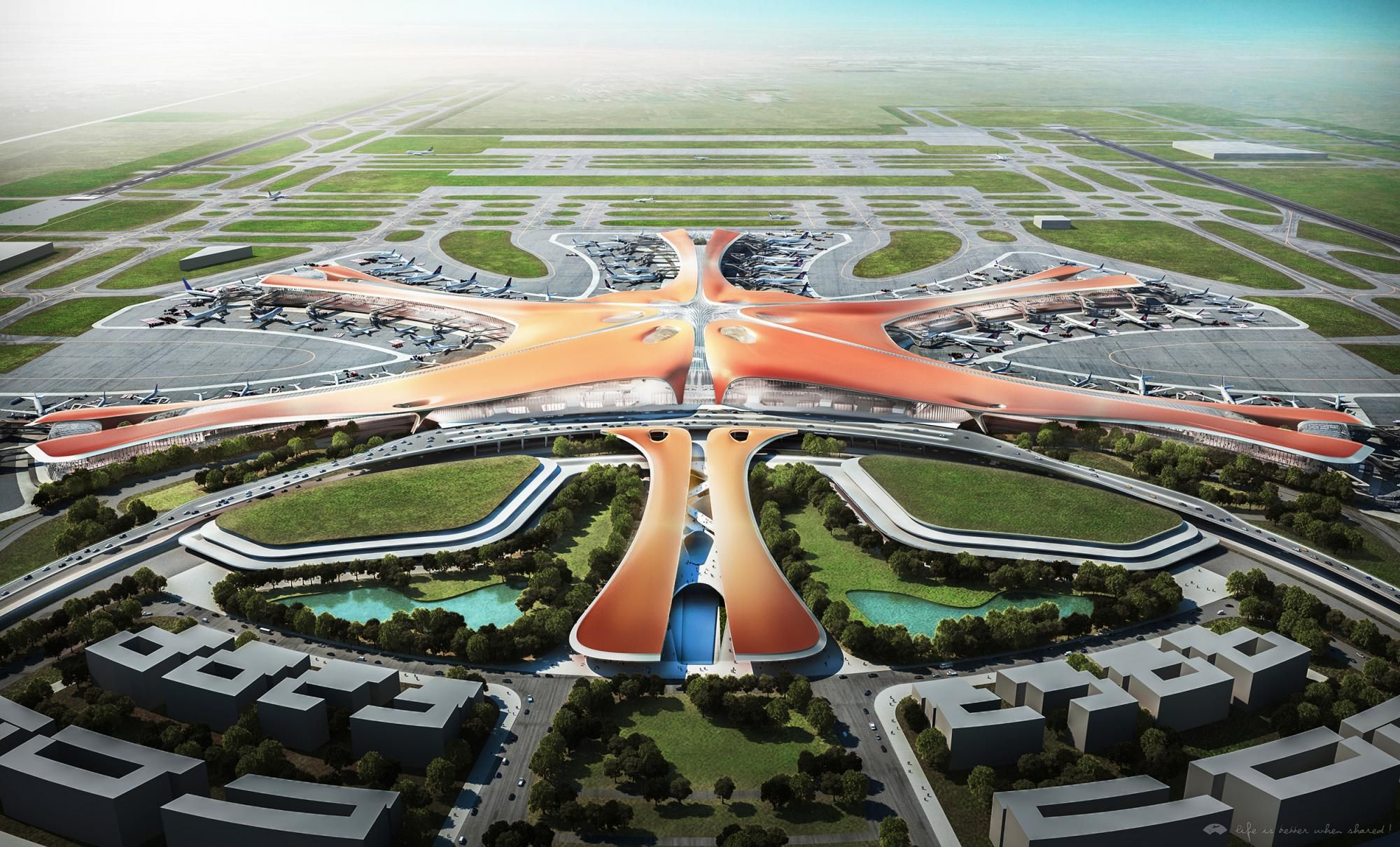 <p>北京新机场方案海星</p>