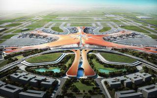 北京新机场方案公布俯瞰像海星 盘点最近新机场设计作品