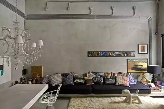 水泥房子室内设计图片