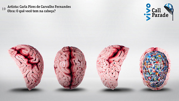 来自巴西100位艺术家的电话亭艺术