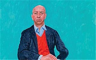 大卫·霍克尼新作肖像系列将在伦敦和洛杉矶展出
