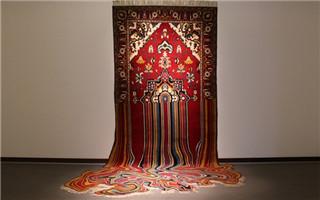 Faig Ahmed的创意解构地毯视觉艺术