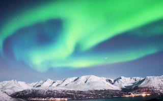 明年就到10大最佳观赏地点追极光