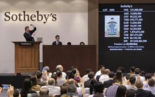 郎世宁画作今于苏富比拍出 1.37亿港元刷新纪录
