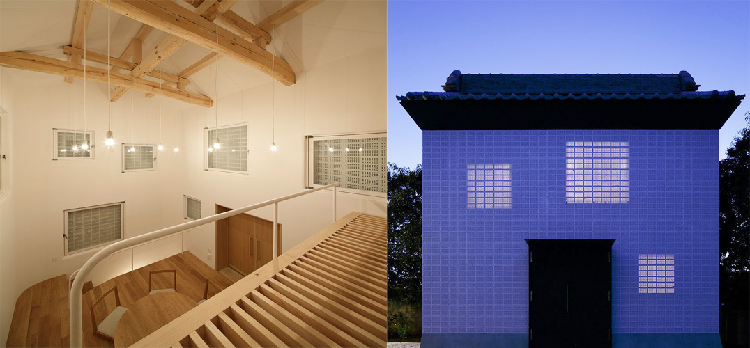 传统砖块房子结构图片