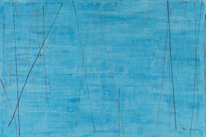 无题,布面丙烯,200cm×300cm,2014.