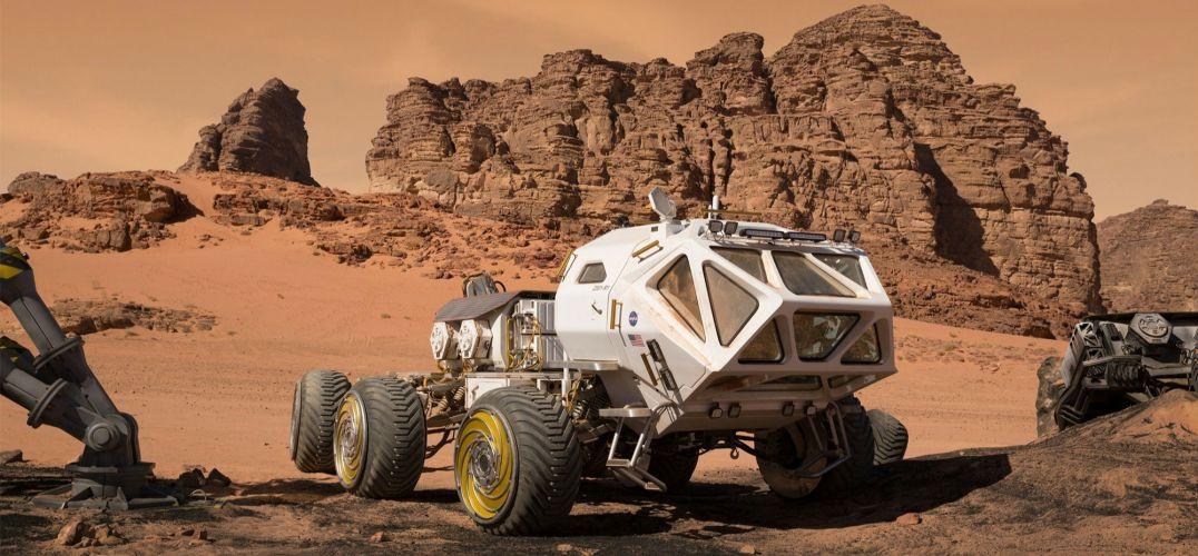 20年后移居火星 nasa火星基地设计大赛作品