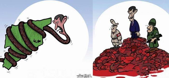 叙利亚讽刺漫画家拉斯兰确证死亡