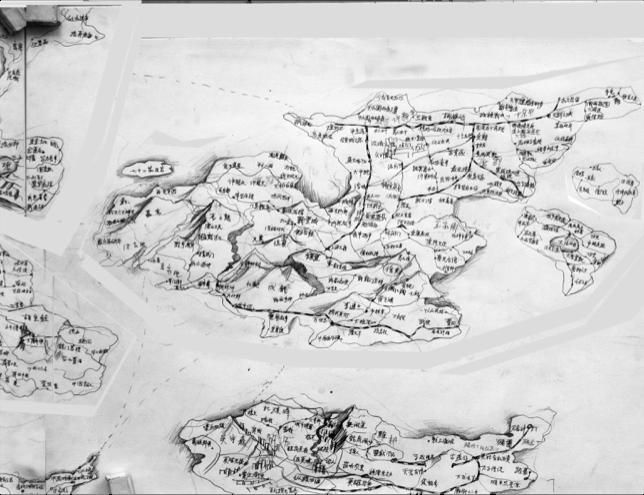 手绘世界地图的简笔画_地球的简单画法10种