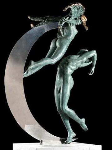 """""""米开朗基罗雕塑终身奖""""唯一女性获奖者作品亮相国家"""