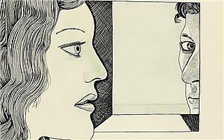 卢西安·弗洛伊德与妻子自画像首曝光 或成苏富比拍卖会黑马