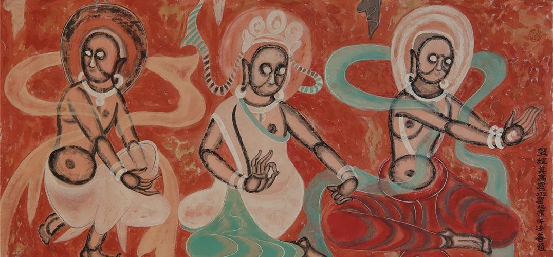 盘点那些丑爆了的敦煌壁画:佛祖画得像冯巩图片