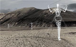 这些跳着华尔兹舞的巨人是给冰岛设计的高压线塔