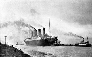 泰坦尼克号最后家书拍出20万美元 印有游轮标识