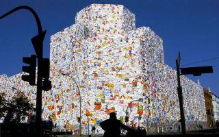 用情书建一栋楼:德国艺术家HA Schult的大型装置作品
