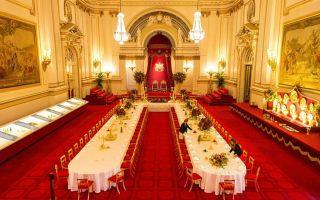 白金汉宫国宴菜单一起看