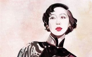 传奇才女丨张爱玲的绘画艺术