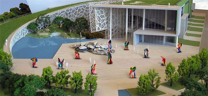 戈勃朗雕塑展首次亮相北京:打破时间距离的创新