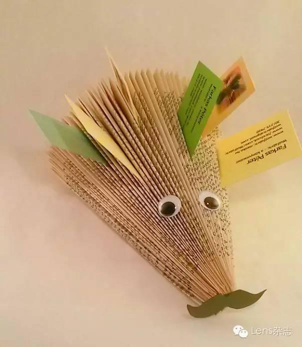 刺猬折纸步骤图