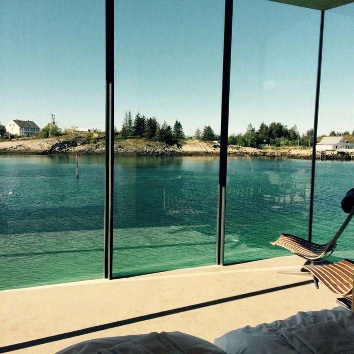 下次在海边建度假村 可以参考挪威这些玻璃房