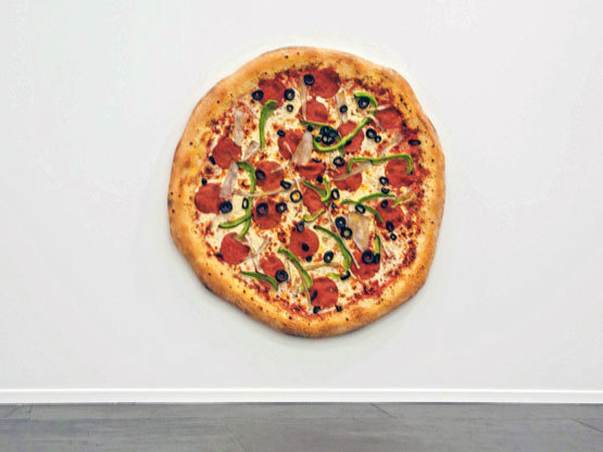 20141016204223-9_Untitled-_Pizza__-2013-by--Tom-Friedman.-Shown-by-Luhring-Augustine