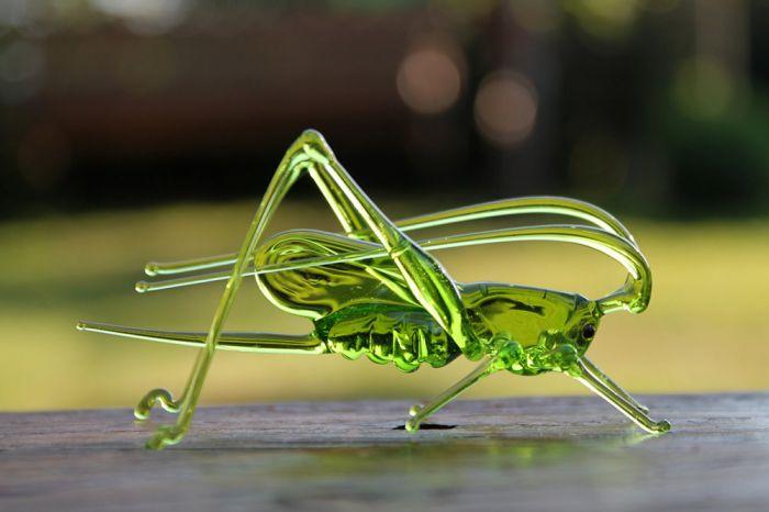 """手工吹制的""""玻璃交响乐"""":动物与动物大不同"""