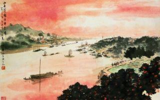 新金陵画派五老作品再次齐聚北京展出