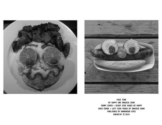 设计  食物杂志有很多了,吃饭前拍照也不是什么新鲜事.