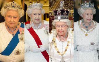 英女王到底有多少库存王冠藏品