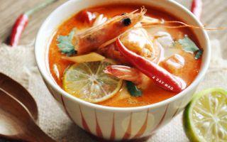 泰式酸辣虾汤:天气冷我们就这样吃