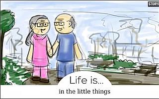 9万人在Facebook上点赞的漫画:人生的意义