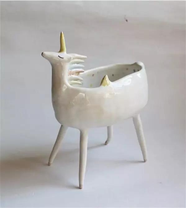 turowska创意动物造型陶瓷碗