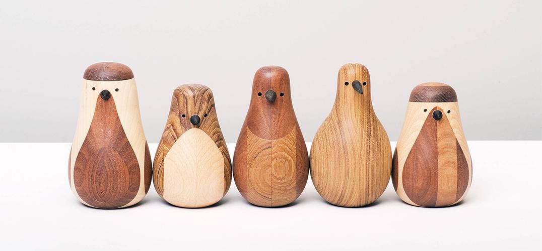 用木头做的物品