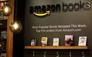 亚马逊开出首家实体书店:专卖网上畅销书