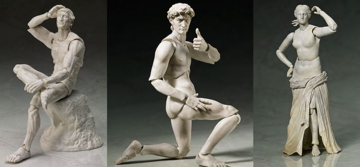 觉醒的大卫像:可动式关节公仔让经典石雕活过来了