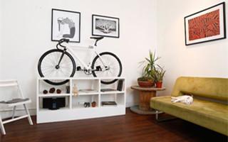 """单车人家中必备 创意单车展示家具""""Chol 1"""""""