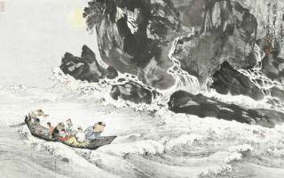 汤胜天山水画展探索中国境界