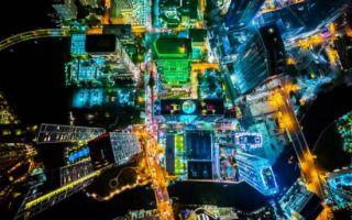 如此梦幻你一定没见过 普利策奖得主航拍大城市夜景